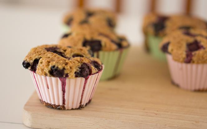 Hotový muffin
