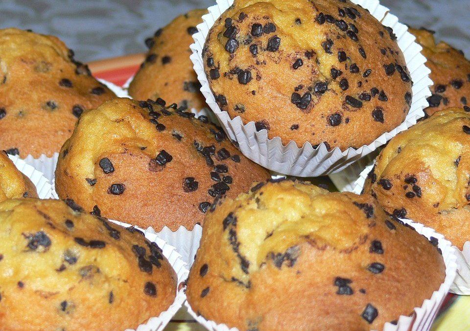 Muffiny sčokoládou