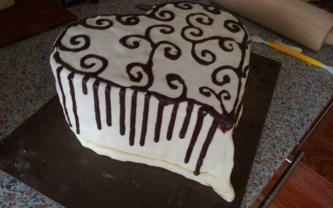 Dohotovení dortu