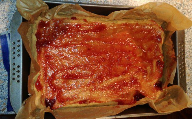 Rozetření marmelády