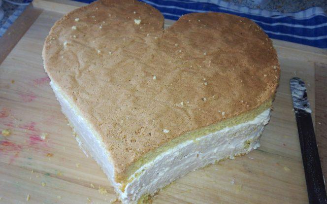 8. Sestavení dortu