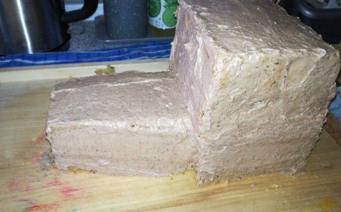 11. Obmazání dortu krémem