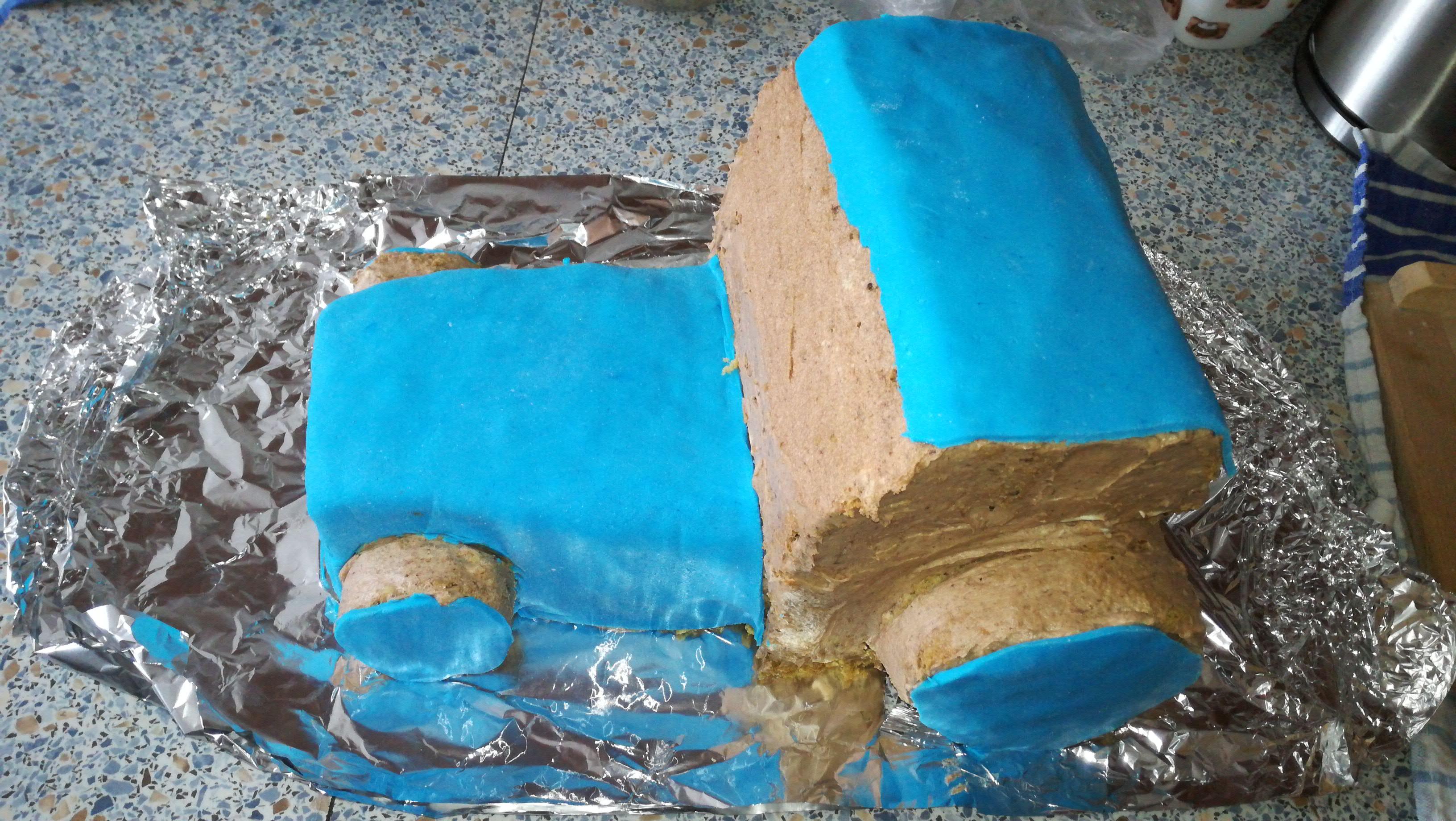 Potahování dortu