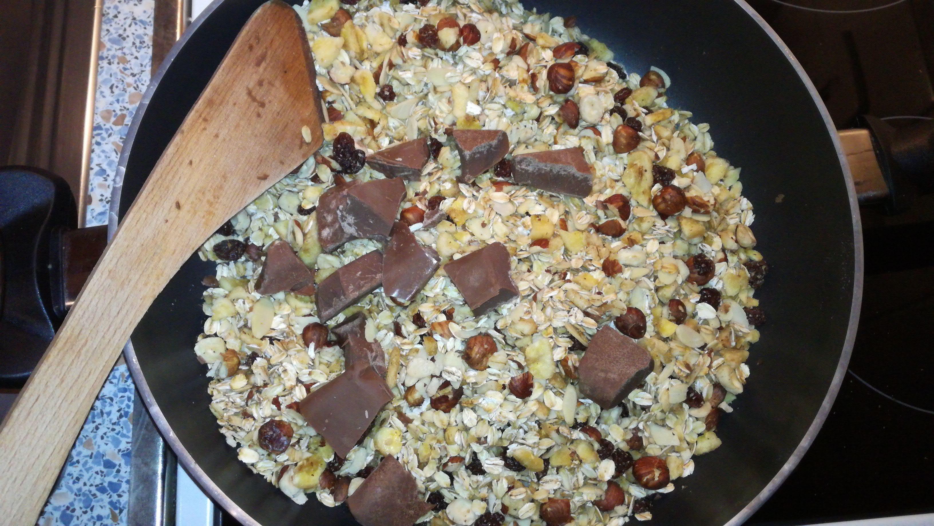 Přidání čokolády