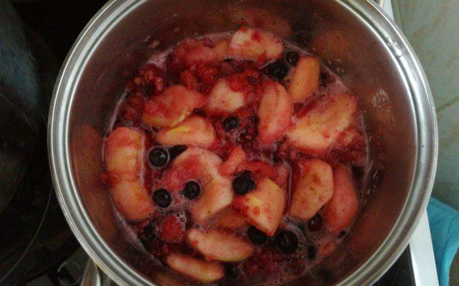 Rozvaření ovoce