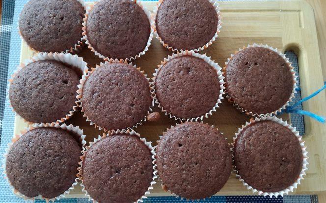 Upečené perníkové muffiny