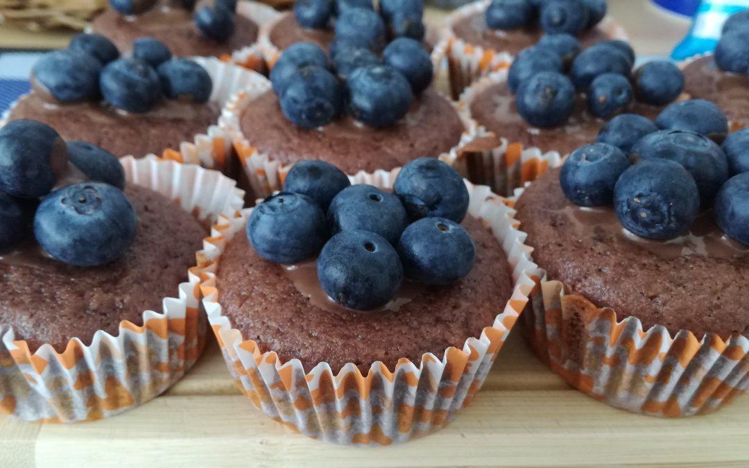Perníkový muffin smarmeládou